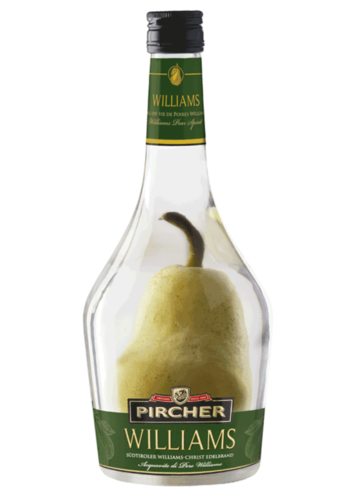 Pircher Williams mit Birne - Südtiroler Williams Christbirnen Edelbrand mit Frucht 700 ml