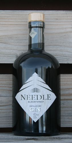 NEEDLE - BlackForest Destilled Dry Gin 0,5l